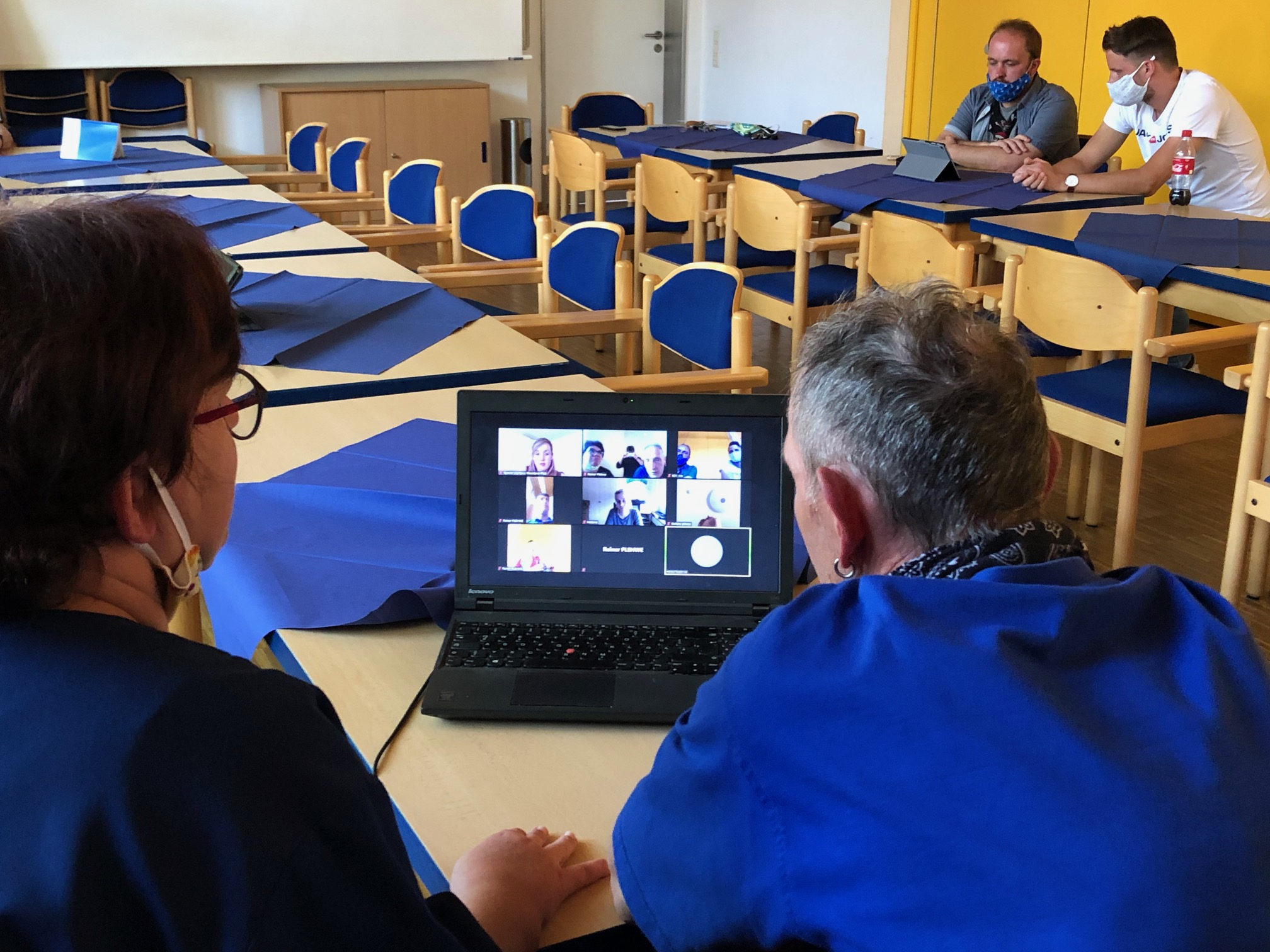Sportler der RMW im digitalen Austausch mit Special Olympics Rheinland-Pfalz